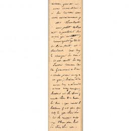 Tampon bois FOND MANUSCRIT par Florilèges Design. Scrapbooking et loisirs créatifs. Livraison rapide et cadeau dans chaque co...