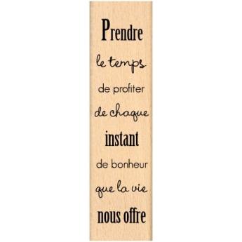 PRENDRE LE TEMPS