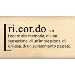 DEFINIZIONE DI RICORDO