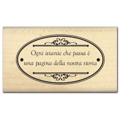Commandez Tampon bois italien OGNI ISTANTE Florilèges Design. Livraison rapide et cadeau dans chaque commande.
