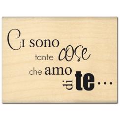 Commandez Tampon bois italien TANTE COSE Florilèges Design. Livraison rapide et cadeau dans chaque commande.