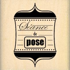 SÉANCE DE POSE