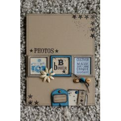 Tampon bois CULTIVER LA MAGIE par Florilèges Design. Scrapbooking et loisirs créatifs. Livraison rapide et cadeau dans chaque...