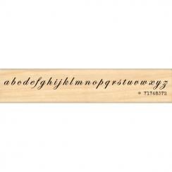 Tampon bois ALPHABET CALLIGRAPHIE par Florilèges Design. Scrapbooking et loisirs créatifs. Livraison rapide et cadeau dans ch...