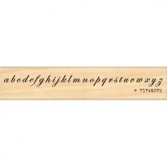 Tampon bois ALPHABET CALLIGRAPHIE