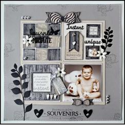 Commandez Tampon bois MILLE PETITS MOMENTS Florilèges Design. Livraison rapide et cadeau dans chaque commande.