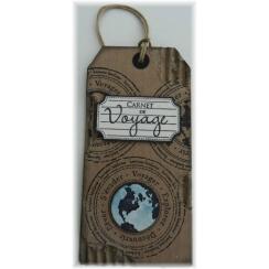 Tampon bois CARNET DE VOYAGE par Florilèges Design. Scrapbooking et loisirs créatifs. Livraison rapide et cadeau dans chaque ...