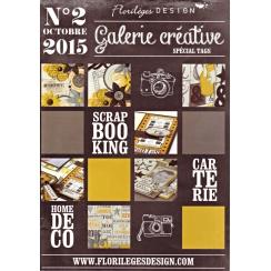 Galerie Créative n°2 par Florilèges Design. Scrapbooking et loisirs créatifs. Livraison rapide et cadeau dans chaque commande.