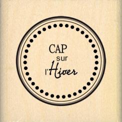 Tampon bois CAP SUR L'HIVER