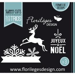 PROMO de -99.99% sur Outil de découpe FLOCONS DE NOËL Florilèges Design