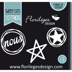 Outil de découpe DANS LES ÉTOILES par Florilèges Design. Scrapbooking et loisirs créatifs. Livraison rapide et cadeau dans ch...