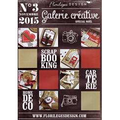 Galerie Créative n°3 par Florilèges Design. Scrapbooking et loisirs créatifs. Livraison rapide et cadeau dans chaque commande.
