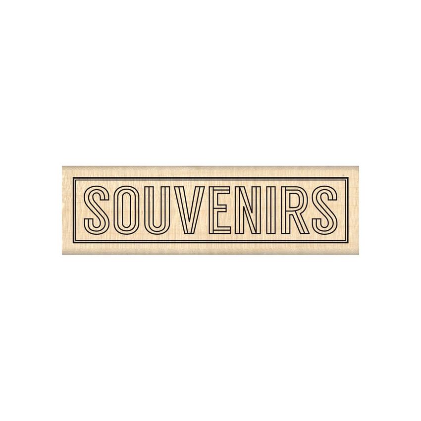 Commandez Tampon bois BLOC SOUVENIRS Florilèges Design. Livraison rapide et cadeau dans chaque commande.