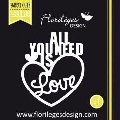 PROMO de -60% sur Outil de découpe ALL YOU NEED Florilèges Design