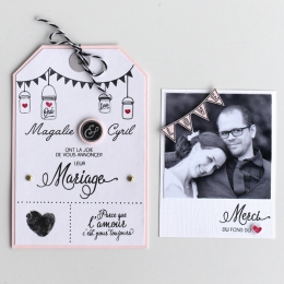 Tampons clear NOTRE MARIAGE