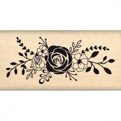Tampon bois JOLI BOUQUET par Florilèges Design. Scrapbooking et loisirs créatifs. Livraison rapide et cadeau dans chaque comm...