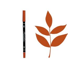 Feutre encreur Floricolor TERRE DE SIENNE par Florilèges Design. Scrapbooking et loisirs créatifs. Livraison rapide et cadeau...