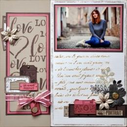 Pochoir TEXTE MANUSCRIT par Florilèges Design. Scrapbooking et loisirs créatifs. Livraison rapide et cadeau dans chaque comma...