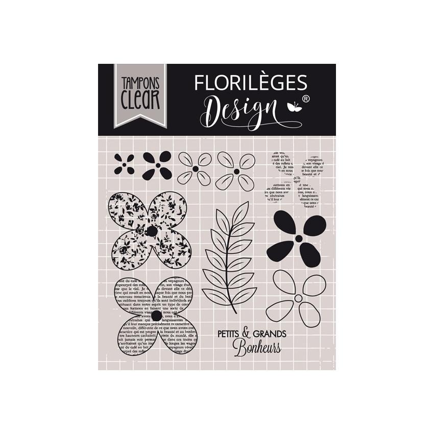 PROMO de -99.99% sur Tampon clear QUELQUES FLEURS Florilèges Design