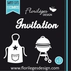 Outils de découpe INVITATION par Florilèges Design. Scrapbooking et loisirs créatifs. Livraison rapide et cadeau dans chaque ...