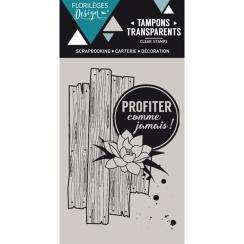 Parfait pour créer : Tampon clear COMME JAMAIS - Capsule Juillet par Florilèges Design. Livraison rapide et cadeau dans chaqu...