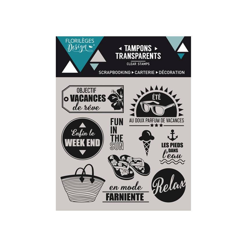 Tampons clear OBJECTIF VACANCES - Capsule Juillet
