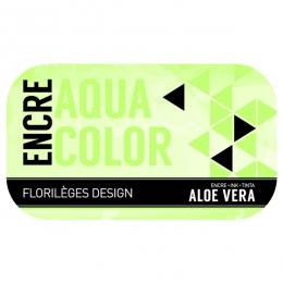 Encre ALOE VERA par Florilèges Design. Scrapbooking et loisirs créatifs. Livraison rapide et cadeau dans chaque commande.