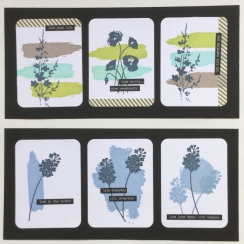Tampon bois PETIT COUP DE PINCEAU par Florilèges Design. Scrapbooking et loisirs créatifs. Livraison rapide et cadeau dans ch...