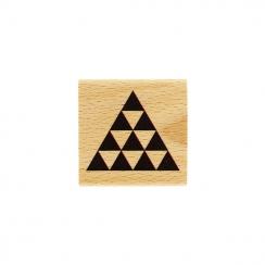 Tampon bois PYRAMIDE
