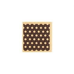 Tampon bois CARRÉ DÉCORATIF par Florilèges Design. Scrapbooking et loisirs créatifs. Livraison rapide et cadeau dans chaque c...
