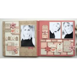 Tampon bois LOVE SWEET LOVE par Florilèges Design. Scrapbooking et loisirs créatifs. Livraison rapide et cadeau dans chaque c...