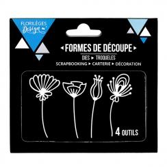 Outils de découpe FLEURS STYLISÉES par Florilèges Design. Scrapbooking et loisirs créatifs. Livraison rapide et cadeau dans c...