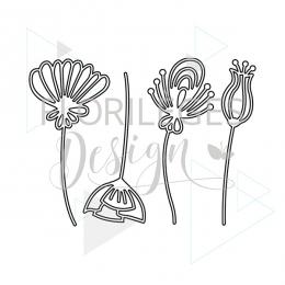 Fleurs Stylisées outils de découpe fleurs stylisées