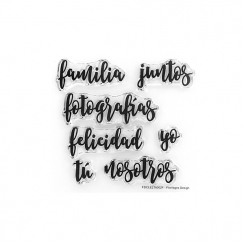 PROMO de -99.99% sur Tampons clears PALABRITAS 1 Florilèges Design
