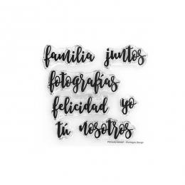 Tampons clears PALABRITAS 1 par Florilèges Design. Scrapbooking et loisirs créatifs. Livraison rapide et cadeau dans chaque c...