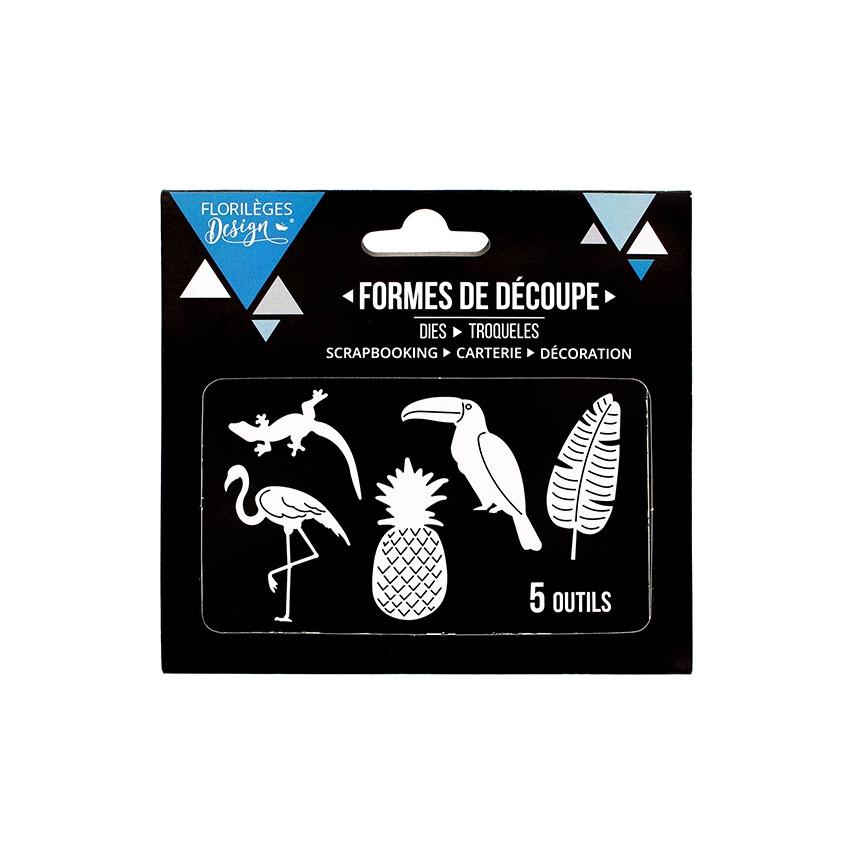 Outils de découpe ANANAS ET COMPAGNIE par Florilèges Design. Scrapbooking et loisirs créatifs. Livraison rapide et cadeau dan...