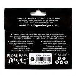 Outils de découpe TROIS SAPINS par Florilèges Design. Scrapbooking et loisirs créatifs. Livraison rapide et cadeau dans chaqu...