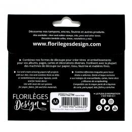 Outils de découpe JOYEUX NOËL par Florilèges Design. Scrapbooking et loisirs créatifs. Livraison rapide et cadeau dans chaque...