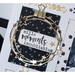Outils de découpe RONDE D'ÉTOILES-Capsule Janvier 2017 par Florilèges Design. Scrapbooking et loisirs créatifs. Livraison rap...