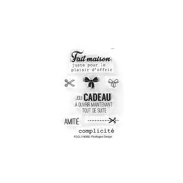 Tampons clear mini CADEAU MAISON