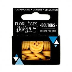 PROMO de -99.99% sur Boutons Ambre Florilèges Design