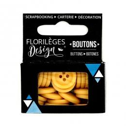 PROMO de -60% sur Boutons Ambre Florilèges Design