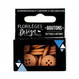 PROMO de -99.99% sur Boutons Clémentine Florilèges Design
