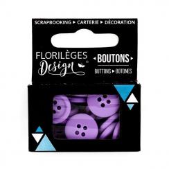 PROMO de -99.99% sur Boutons Améthyste Florilèges Design