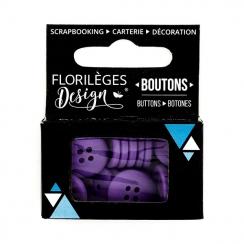 PROMO de -99.99% sur Boutons Myrtille Florilèges Design