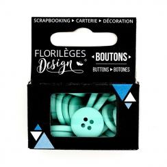 PROMO de -99.99% sur Boutons Céladon Florilèges Design
