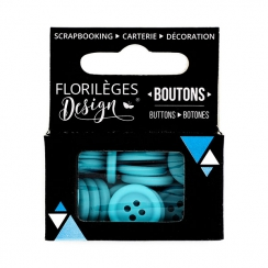 PROMO de -99.99% sur Boutons Mers du Sud Florilèges Design