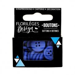 PROMO de -99.99% sur Boutons Outremer Florilèges Design