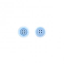 PROMO de -60% sur Boutons Bleu acier Florilèges Design