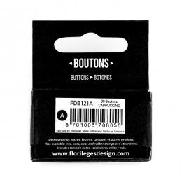 PROMO de -99.99% sur Boutons Cappuccino Florilèges Design